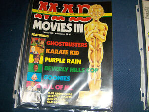 MAD MOVIES 111 SUPER SPECIAL-WINTER 1991-RARE BACK ISSUE! West Island Greater Montréal image 1