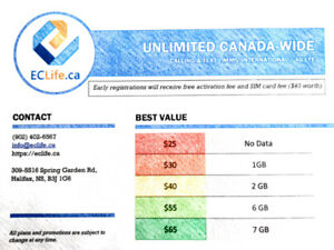 ECLife is offering the phone plans + BEST DEALS + BEST VALUES