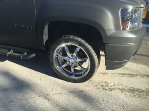 22 inch rims and tires for sale