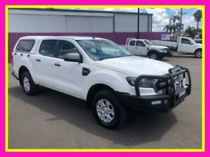 2016 Ford Ranger PX MkII MY17 XLS 3.2 (4x4) White 6 Speed Manual Double Cab Pick Up Dubbo Dubbo Area Preview