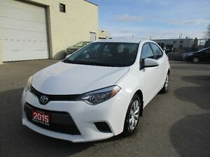 2015 Toyota Corolla LE NO ACCIDENT !!!