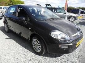 2010 Fiat Punto 1.4 8V EVO ACTIVE 5d Hatchback Black