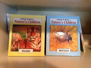 getting to know...Nature's Children. Animal Books