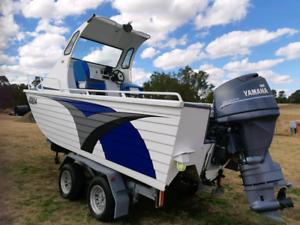 6m trihull plate Aluminum fishing boat yamaha motor four stroke