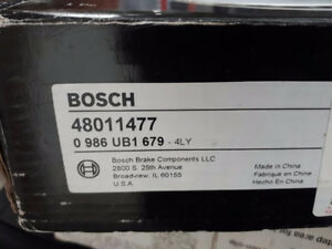 Bosch 48011477 QuietCast Premium Disc Brake Rotor