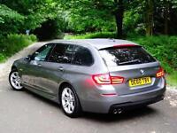 2010 60 BMW 520 2.0TD Touring/Estate auto d M Sport..HIGH SPEC..STUNNING !!