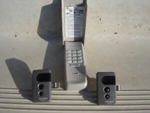 Craftsman Keyless Entry Pad and Remotes
