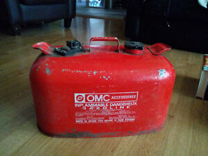 Marine Boat Fuel Gas Jerry Can. 5 gallons.