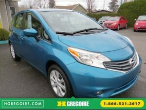2015 Nissan Versa Note SL AUT A/C MAGS CAMERA BLUETOOTH GR ELECT