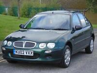 ROVER 25 1.4 16v ( 84ps ) iE, LONG MOT,LOW TAX AND INSURANCE,