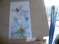 WATERCOLOUR PAINTING plus drawing instruction