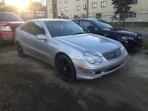 2002 Mercedes c230 coupe , supercharge compressor engine