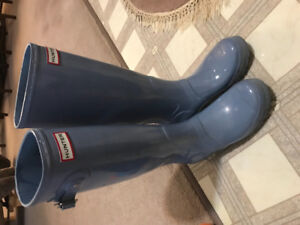 Hunter boots (barely worn!)