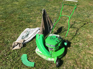 Lawnboy self propelled with grass and leaf bags