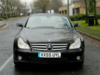 2005 55 Mercedes-Benz CLS 5.5 CLS55 K KOMPRESSOR 500 BHP AMG WITH BIG SPEC