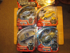 Pair of Transformers First Movie Figures MOSC