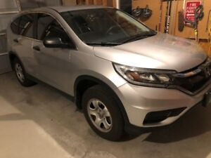 2015 CRV LX, Winter Tire and Rims included, 35000km