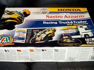 Italeri Honda Race Team Tractor Trailer Plastic model kit