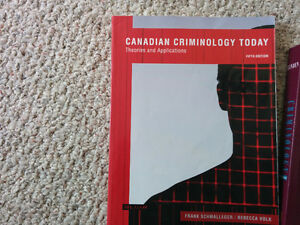 Criminology Textbooks (Used for first year at Yukon College)
