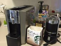 Verismo 600 and milk frother