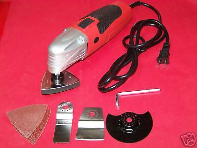 Multi-fuction Power Tool Scraper Sander Cutter Slitting Oscillating Tool
