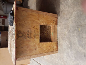 Homemade Doghouse Insulated