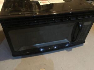 Kenmore Over-the-Range Black Microwave Oven