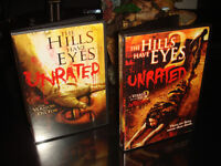 DVD-THE HILLS HAVE EYES 1+2-FILM/MOVIE
