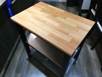 IKEA STENSTORP kitchen trolley - solid oak
