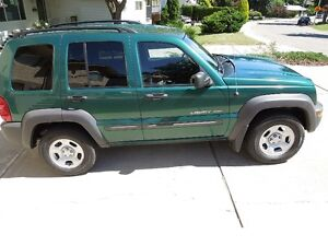 2003 Jeep Liberty Sport SUV, Crossover 4x4