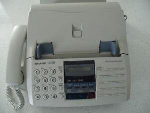 Sharp UX-510 Facsimile, Copier, Printer & Phone