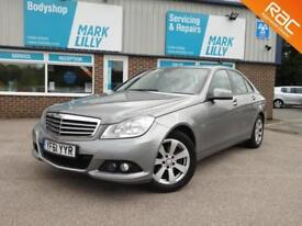 2011 Mercedes-Benz C220 2.1CDI Blue F 2011MY CDI SE £30 ROAD TAX 60 + MPG DIESEL