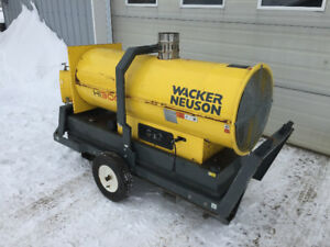 Chauffage 300 000btu Diesel Indirect Fire Heater Wacker Neuson