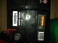 CAR BATTERY -cheap-from HALFORDS