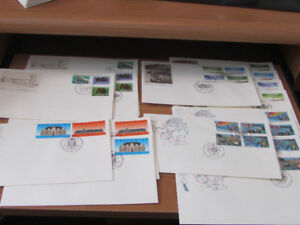 1989 Canadian Postage Stamps FDCs