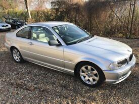 BMW 3 Series 2.5 325Ci Sport 2dr. Low mileage!