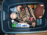 Assorted sporting goods