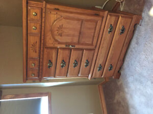 Oak Bedroom furniture for sale.