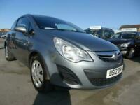 2012 Vauxhall Corsa 1.2 EXCLUSIV AC 3d 83 BHP CHEAP INSURANCE Hatchback Petrol M
