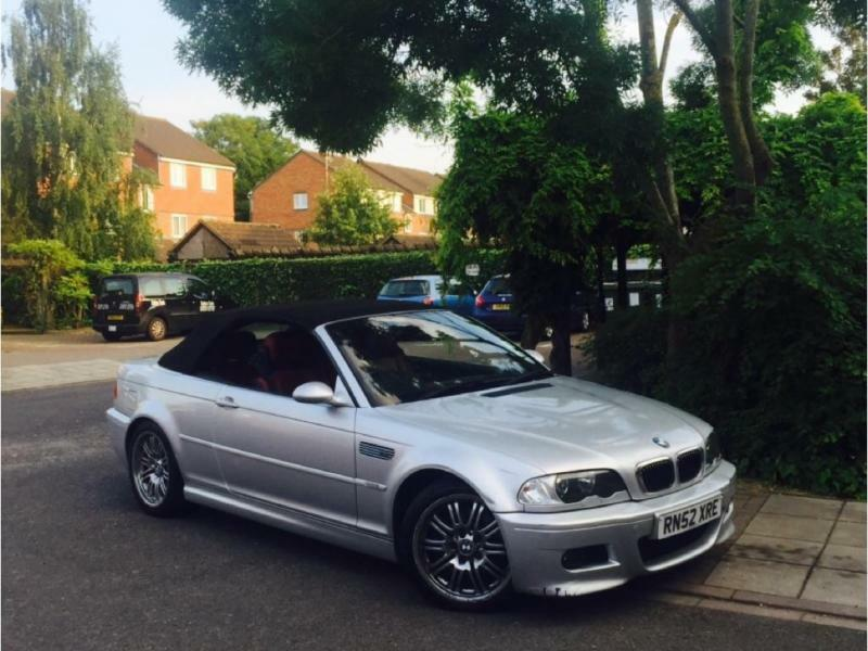 BMW M3 3.2 2003MY M3 2 DOOR COVERTIBLE 38000 MILES ONLY GENUINE CAR