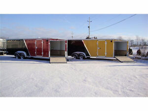 Miska Trailer Factory stocks a Wide Range of Snowmobile Trailers