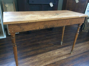 ANTIQUE CONSOLE TABLE - VERY NICE!!!
