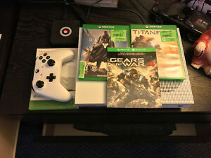 Xbox One S 1TB + Titanfall / Gears 4 & Destiny (can include TV)