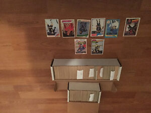 Two boxes of 70s 80s hockey cards