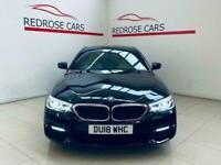 2018 BMW 5 Series 2.0 520D M SPORT 4d 188 BHP Saloon Diesel Automatic