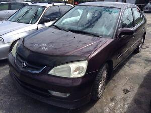 Acura 1.7 EL 2e Gen (2001) 2001-2005