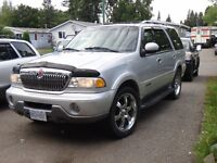 LUXURY 2000 Lincoln Navigator SUV, Crossover 4x4 AWD