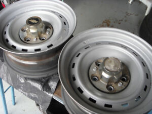 Chevy pick up steel rims 15 in.