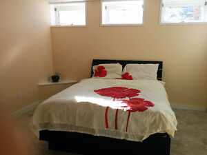 Brand new & spacious one bedroom fully furnished basement suite Prince George British Columbia image 5