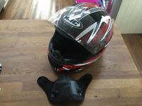 Motorcycle HJC Lotus Helmet size XL.
